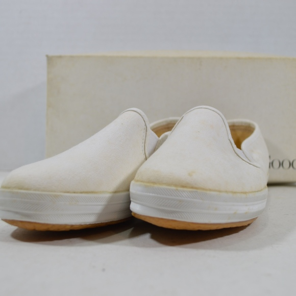 6d0134bb492 Vintage 90s Keds New Womens Champion Slip On Shoes